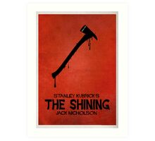 The Shining - MINIMAL DESIGN Art Print