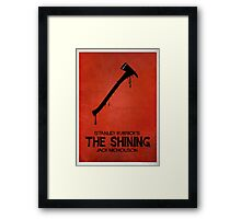 The Shining - MINIMAL DESIGN Framed Print