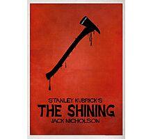 The Shining - MINIMAL DESIGN Photographic Print