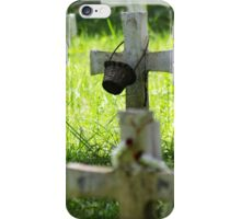 grave photography iPhone Case/Skin