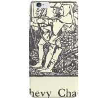 Some British Ballads by Sangorski and Sutcliffe art Arthur Rackham 1919 0055 Chevy Chase iPhone Case/Skin