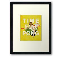 Time for Pong Framed Print