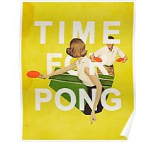 Time for Pong Poster