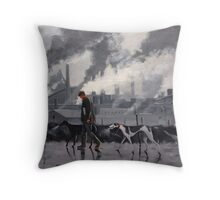 Lancashire life Throw Pillow
