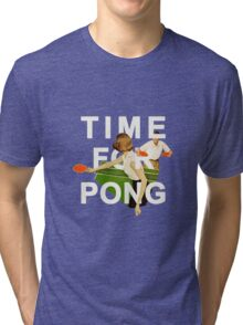Time for Pong Tri-blend T-Shirt