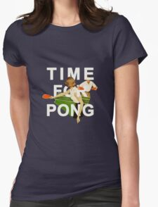 Time for Pong Womens Fitted T-Shirt