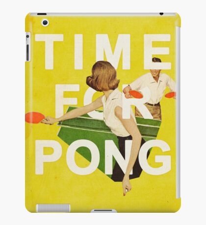 Time for Pong iPad Case/Skin