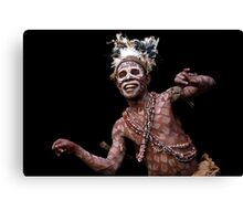Cameroon Pygmy dance Canvas Print