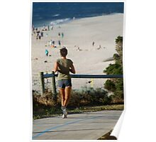 Nice Day For A Jog Poster
