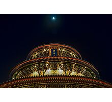 Temple of Heaven at Epcot's China Pavilion Photographic Print