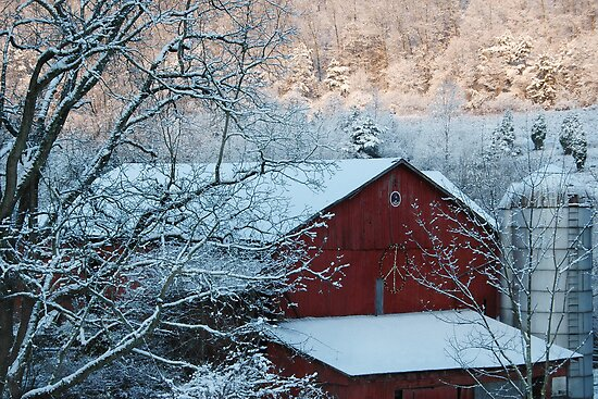Peace Barn by Michael  Dreese