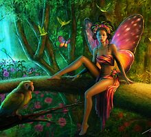 Exotic Butterfly by Tanya Wheeler Varga