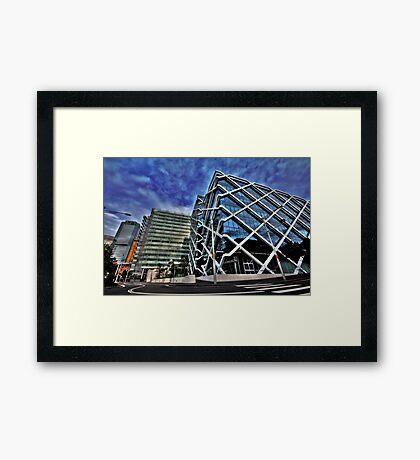 Funky Building Framed Print