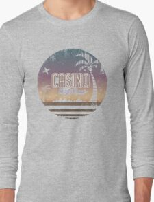 Sonic 2 - Casino Night Zone (Distressed) Long Sleeve T-Shirt