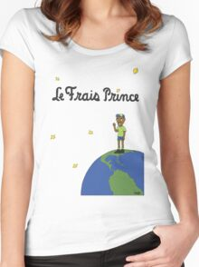 Le Frais Prince (Day) Women's Fitted Scoop T-Shirt