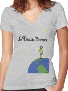 Le Frais Prince (Day) Women's Fitted V-Neck T-Shirt