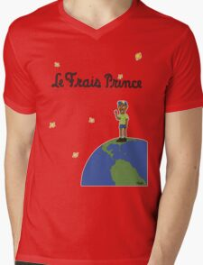 Le Frais Prince (Day) Mens V-Neck T-Shirt