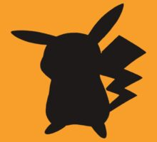 Pokemon - Pikachu Silhouette Design  by NinjasInCarpets