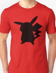 Pokemon - Pikachu Silhouette Design  T-Shirt