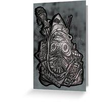 Bandit Raider Greeting Card