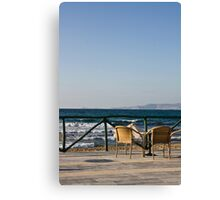 Paradise for two (Crete, Greece) Canvas Print