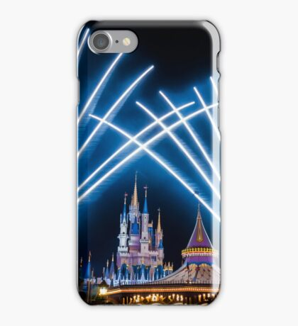 Just Do As Dreamers Do - Wishes Fireworks at Magic Kingdom iPhone Case/Skin