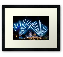 Just Do As Dreamers Do - Wishes Fireworks at Magic Kingdom Framed Print