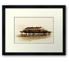 cleethorpes by:glenn goulding copyright Framed Print