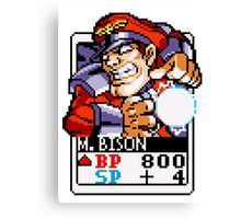 M. Bison Canvas Print