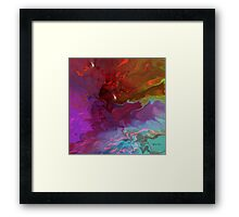 Deep Thoughts - Abstract  Art + Products Design  Framed Print