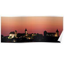 "Nuremberg Castle ""Kaiserburg"" Poster"