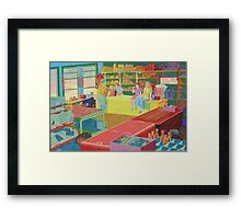 Soda Pop Framed Print