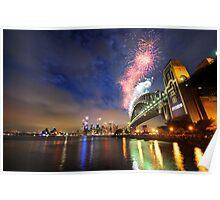 Sydney Fireworks NYE 2009 Poster