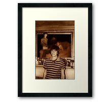 The Triplets Framed Print