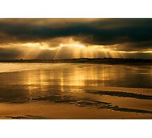 Donabate Strand in December Photographic Print