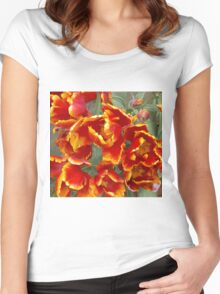 Cathedral Tulips Women's Fitted Scoop T-Shirt