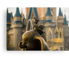 Timothy Mouse and Dumbo at Magic Kingdom Park Metal Print