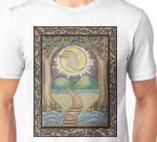 The Moon Tarot Fantasy Card Unisex T-Shirt