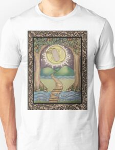 The Moon Tarot Fantasy Card T-Shirt