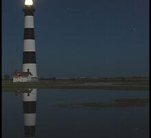 Reflecting On Bodie Island Light by David Daniel