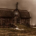 barn in old port by Brock Hunter