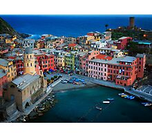 Vernazza Evening Photographic Print
