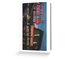 Pike Place Market: Phone Case Greeting Card