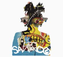 SAMO silhouette Untitled by basquiat
