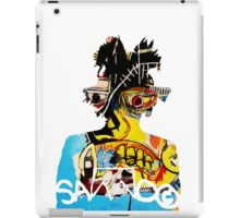SAMO silhouette Untitled iPad Case/Skin