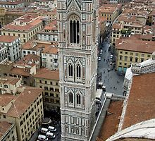 Cityscape - Florence, Italy by rjhphoto