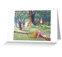 The Seven Muses Greeting Card