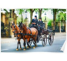 London Carriage  Poster