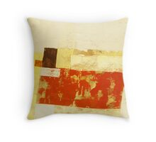Forces 4 - Original acrylic abstract painting on canvas Throw Pillow