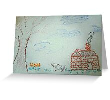 A Childs Point Of View Greeting Card